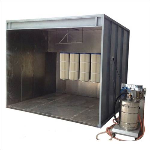 Cartridge Type Powder Recovery Booth