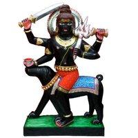 Black Bherav Statue