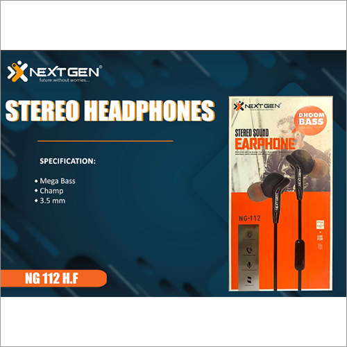 3.5 MM Brass Stereo Headphone
