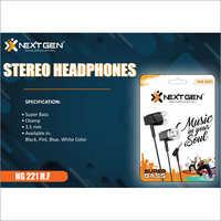 3.5 MM Stereo Headphone