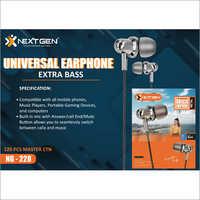 Brass Universal Earphone