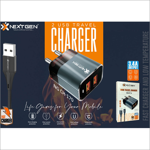 3.4 AMP Dual USB Charger
