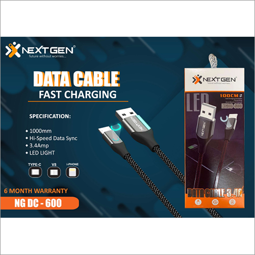 LED Light Fast Charging Data Cable