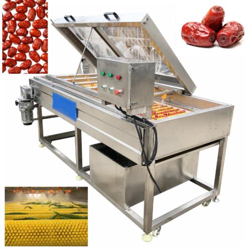 HQ-4-800 Fruit Vegetable Jujube Arabian Date Spray Washing Machine