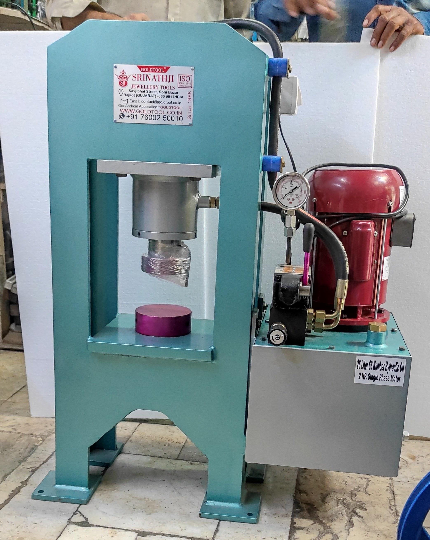 hydraulic coin pressing machine Gold Tool Hydraulic Press