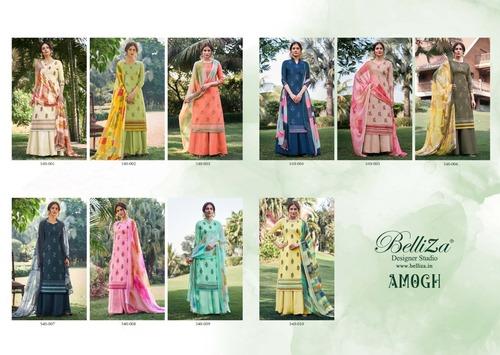 Amogh By Belliza Desiner Studio Pure Premium Cotton Print Catalog