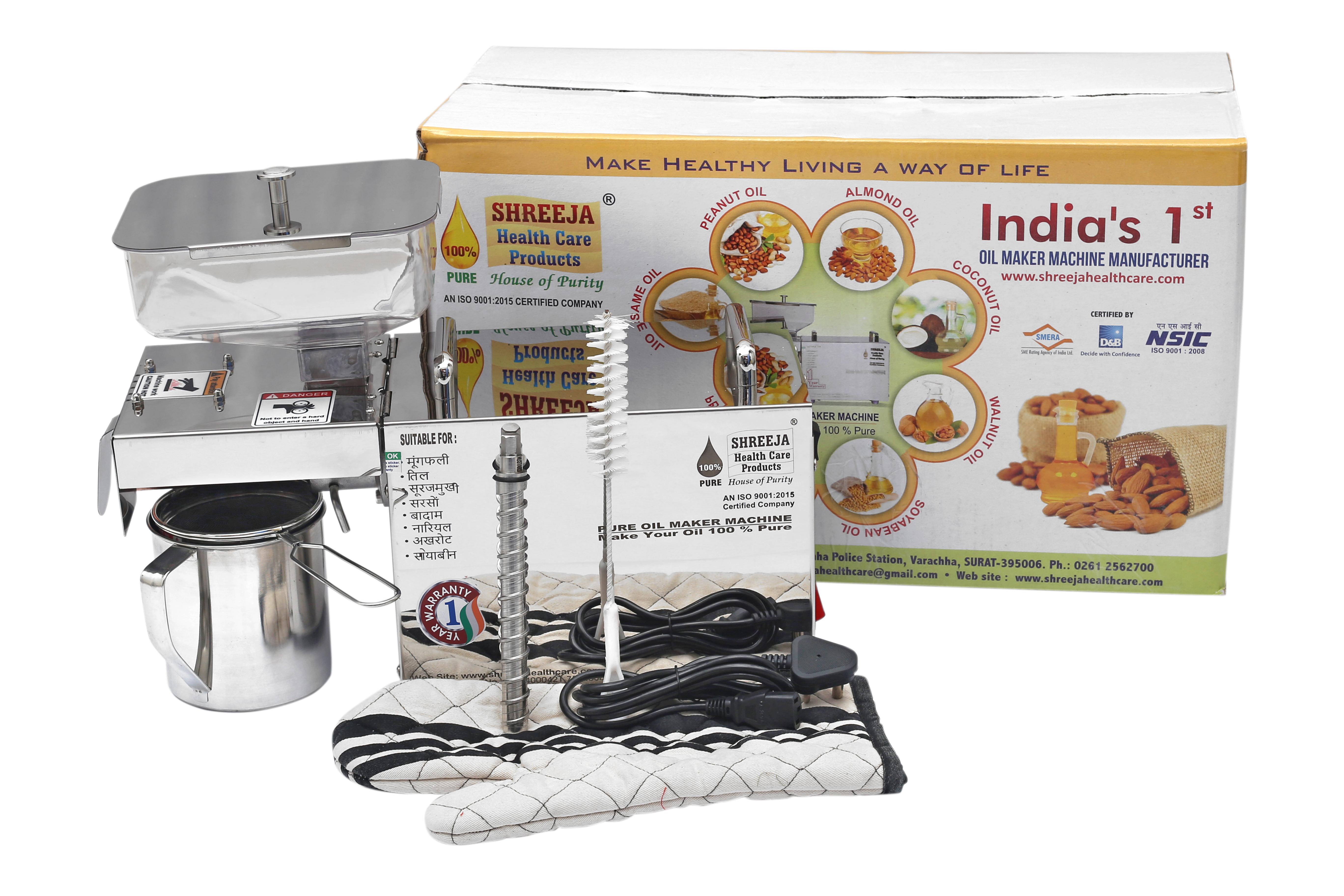Pure Edible Oil Maker Machine