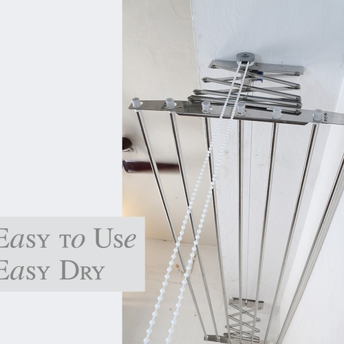 Stainless Steel Ceiling Cloth Drying Hanger