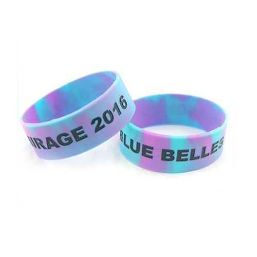 Double Side Print Silicone Wristband