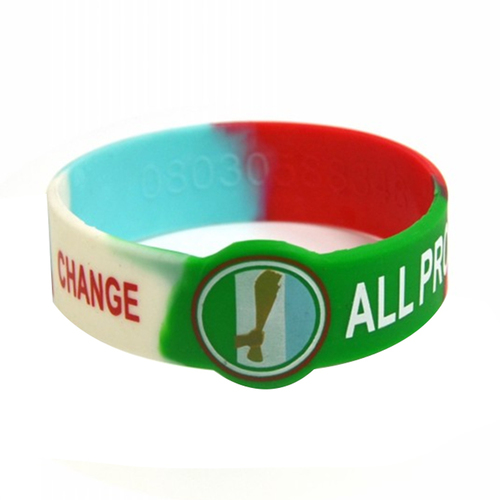 Special Shaped Silicone Wristband