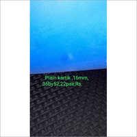 16 Mm Plain Kartik Hard Rubber Sole Sheet