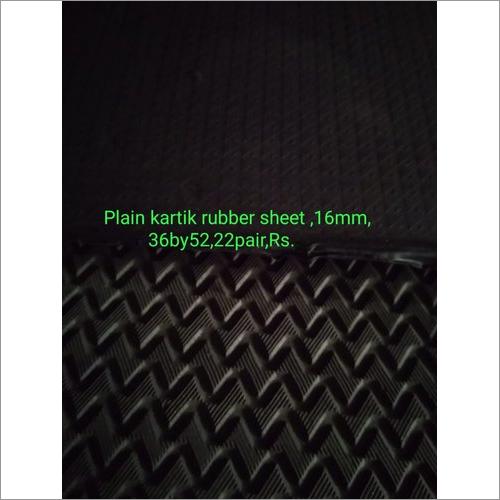 Black Plain Kartik Hard Rubber Sheet
