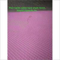 Purple Plain Kartik Hard Rubber Sole Sheet