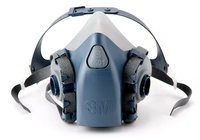3M Half Face Piece Reusable Respirator 7501/37081(AAD), Small