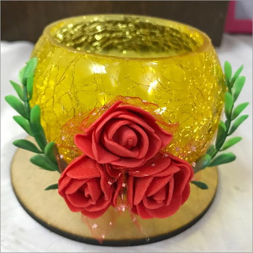 Handmade Flower Candle Holder