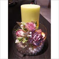 Handmade Gifting Flower Candle