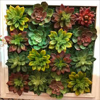 Artificial Flower Wall Hanging Decor