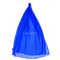 Blue Georgette Interlock Dupatta