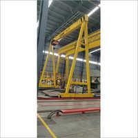 Portable Gantry Crane With Wire Rope Hoist