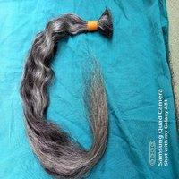 Bulk Grey Raw Indian Hair Bulk