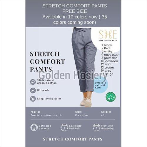 Stretch Comfort Pants
