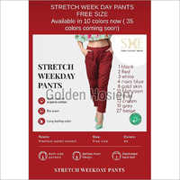 Stretch Weekday Pants