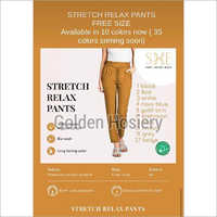Stretch Relaxed Pants