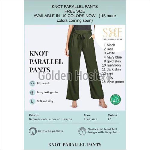 Knot Parallel Pants