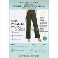 Knot Parallel Pants