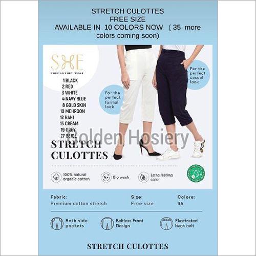Stretch Culottes