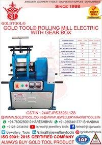 Single Head Rolling Mills With Handle Jewellery Machine