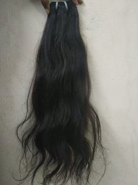 INDIAN VIRGIN REMY WAVY HUMAN HAIR EXTENSIONS