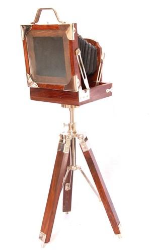 Decorative Wooden Camera
