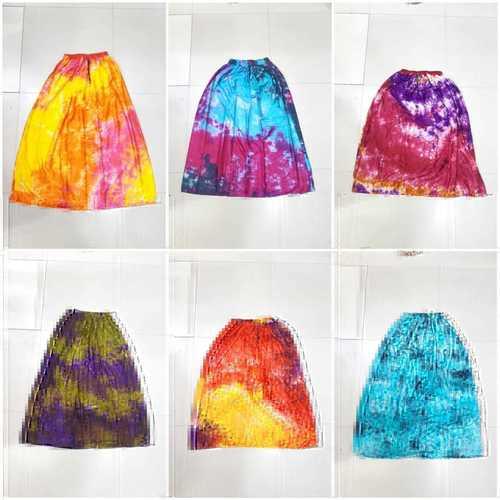 Rayon Tie-die Skirt