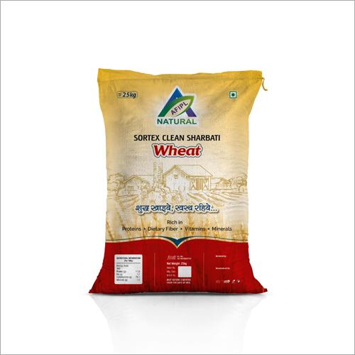 25Kg Sortex Clean Sharbati Wheat Flour Grade: A