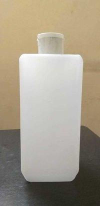 White Flip top Cap Empty HDPE Bottle For Sanitizer | 500Ml