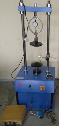 Unconfine Compression Testing Machine