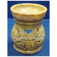 Antique Design Natural Stone Aroma Oil Lamp