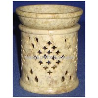 Beautiful Soapstone Carved Aroma Oil Burner For Home