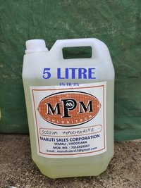 ( 1% To 3% ) 5 Liters Sodium Hypochlorite Solution