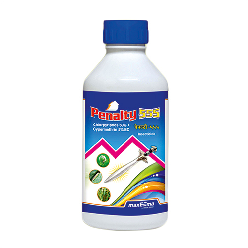 Chlorpyriphos 50% + Cypermethrin 5% EC Insecticide
