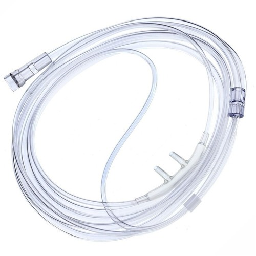 disposable PVC nasal oxygen cannula tube for infant and adult