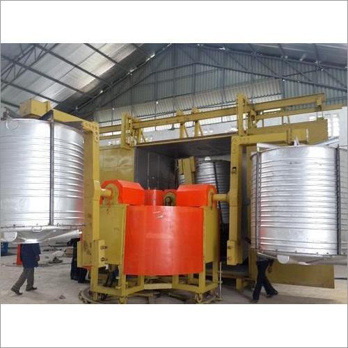 3 Straight Arm Bi Axial Machine