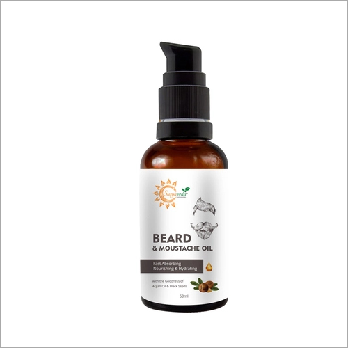 Beard and Moustache Growth Oil