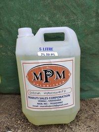 (7% to 9%) 5 liter sodium hypochlorite