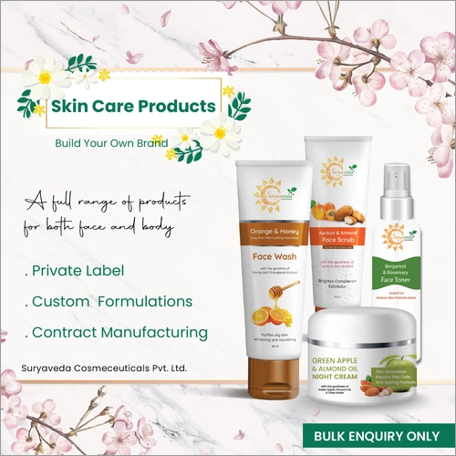 Third Party Manufacturing Of Skin Care Products