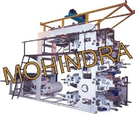 Multi Color Flexographic Printing Machine
