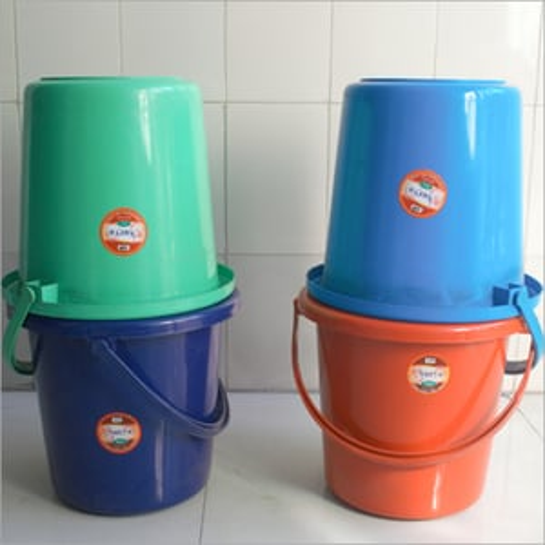 20 Ltr Konark Plain Plastic Water Bucket