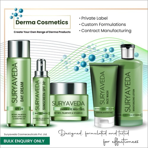 Third Party Manufacturing Of Derma Cosmetics