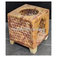 Beautiful Square Shape Soapstone Aroma Oil Diffuser / Burner